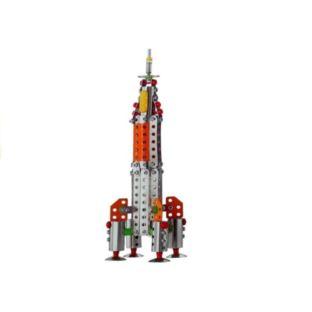 Rakieta Klocki Konstrukcyjne DIY 212 Elementów