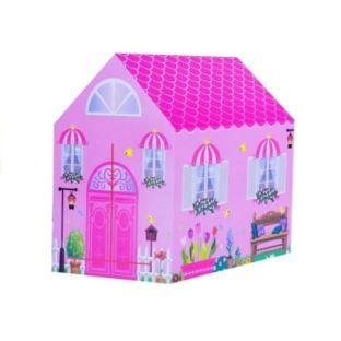 Namiot Ogrodowy Różowy Domek Duży 103 x 93