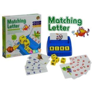 Gra do nauki angielskiego Dopasuj Literki 30 kart