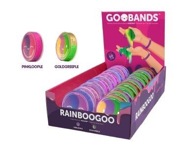 GOO BANDS Slime Tęczowy MIX kolorów