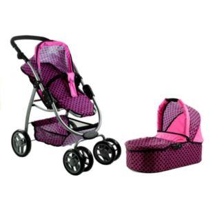 Wózek dla lalek Alice Głęboki, Spacerówka, Gondola